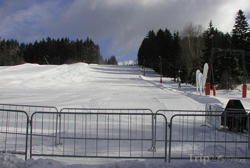 Fotka, Foto Železná Ruda, skiareál Nad nádražím