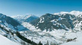 Alpské městečko Rauris