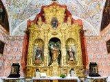 Antequera, oltář v kostele Carmen