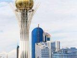 Astana, vyhlídková budova Bayterek