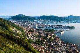 Bergen, panorama