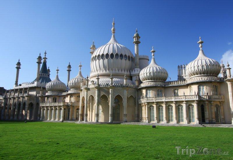 Fotka, Foto Brighton, palác Royal Pavilion (Velká Británie)