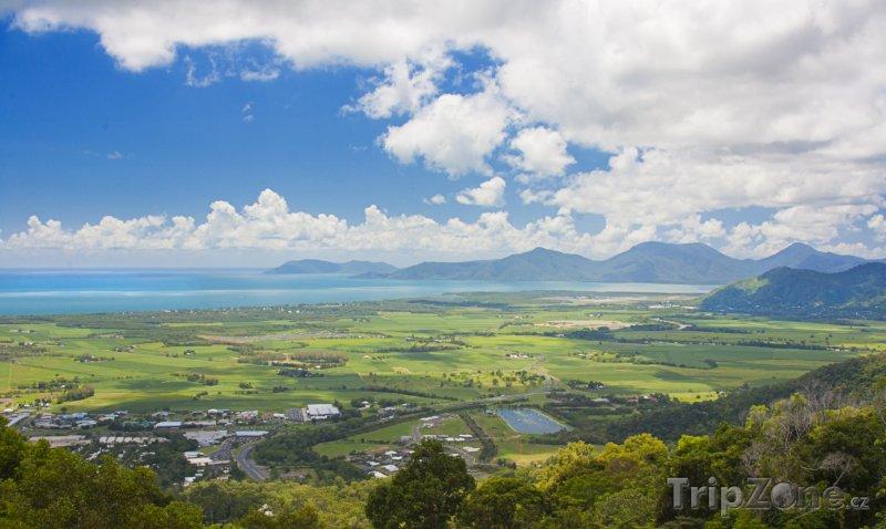 Fotka, Foto Cairns, panorama města