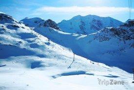 Engadin – St. Moritz, středisko Diavolezza