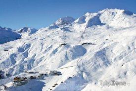Exkluzivní lyžařské středisko Sölden