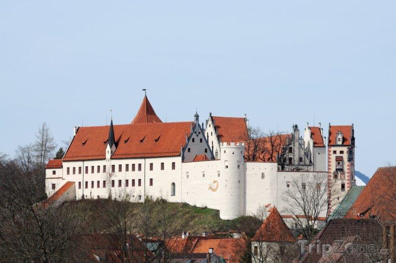 Fotka, Foto Füssen, zámek Hohes Schloss (Německo)