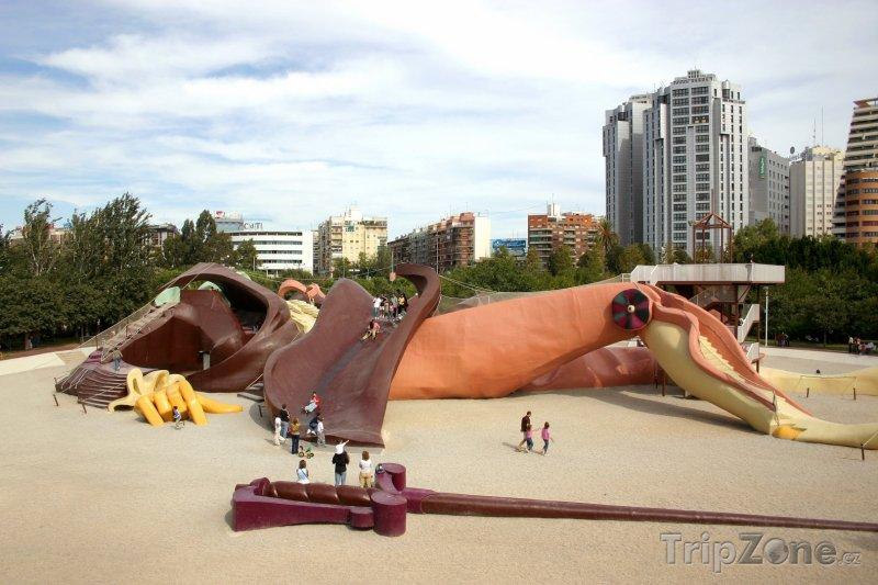Fotka, Foto Gulliver Park (Valencie, Španělsko)