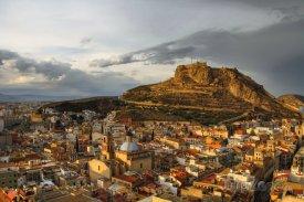 Hrad Santa Barbara nad Alicante