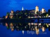 Hrad Wawel v noci