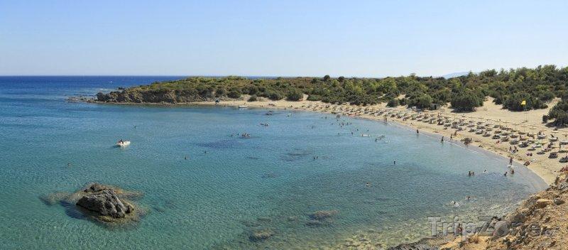 Fotka, Foto Kiotari, záliv Glystra Bay (Řecko)