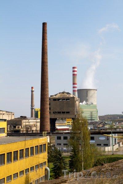Fotka, Foto Kladno, průmyslová část města (Česká republika)