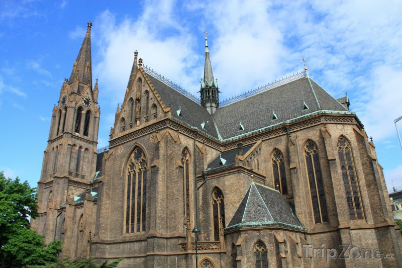 Fotka, Foto Kostel svaté Ludmily na Vinohradech (Praha, Česká republika)