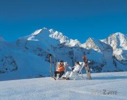 Lyžařské středisko Pontresina - Diavolezza