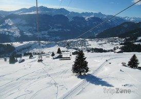 Lyžařský rezort Obersaxen-Mundaun-Val Lumnezia