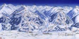 Mapa lyžařského střediska Hochwurzen-Planai