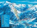 Mapa lyžařského střediska Karpacz