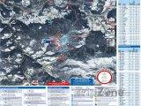 Mapa lyžařského střediska Kronplatz