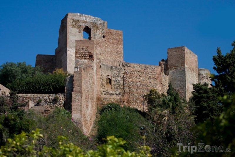 Fotka, Foto Maurská pevnost Alcazaba (Málaga, Španělsko)