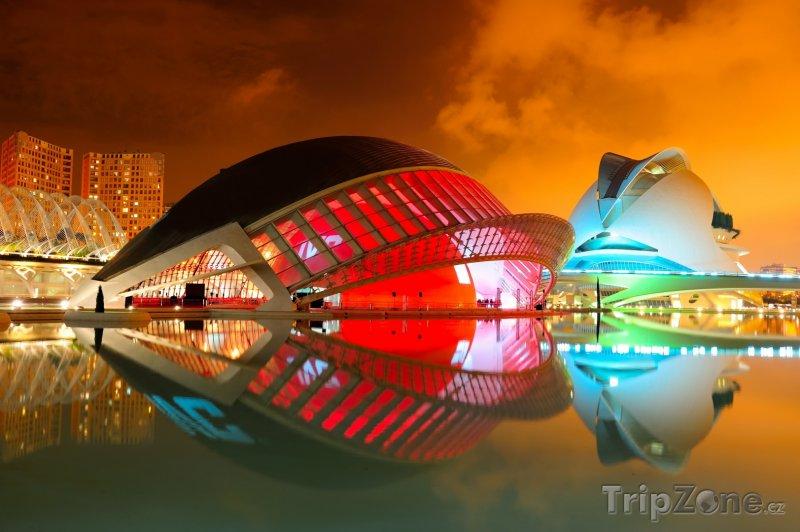 Fotka, Foto Město umění a věd, planetárium a kino IMAX 3D (Valencie, Španělsko)
