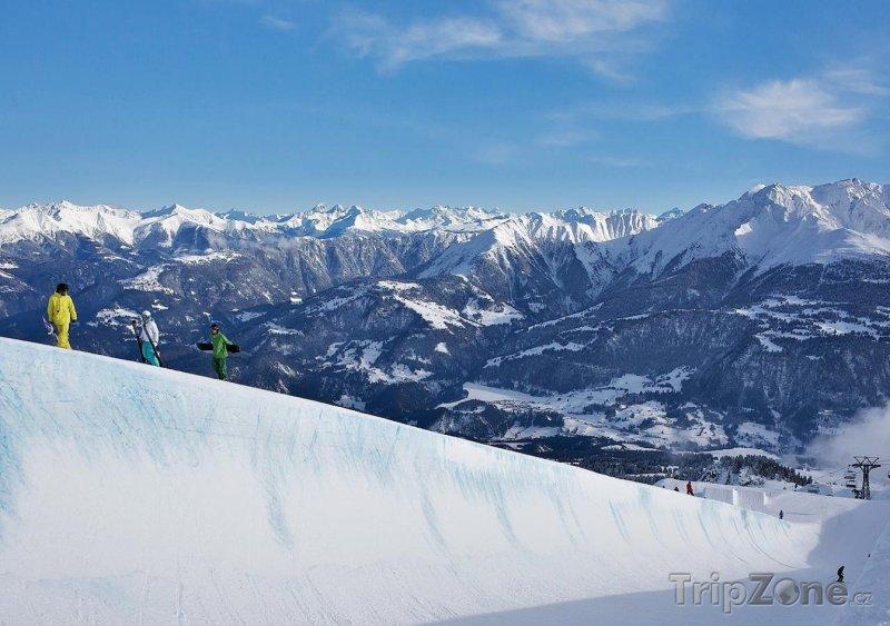 Fotka, Foto Monsterpipe na ledovci Vorab