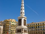 Obelisk na Place de la Merced