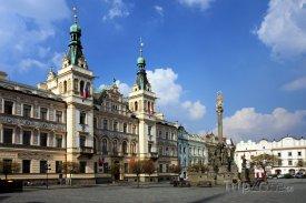 Pardubice, radnice na Perštýnském náměstí