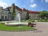 Piešťany, fontána v parku