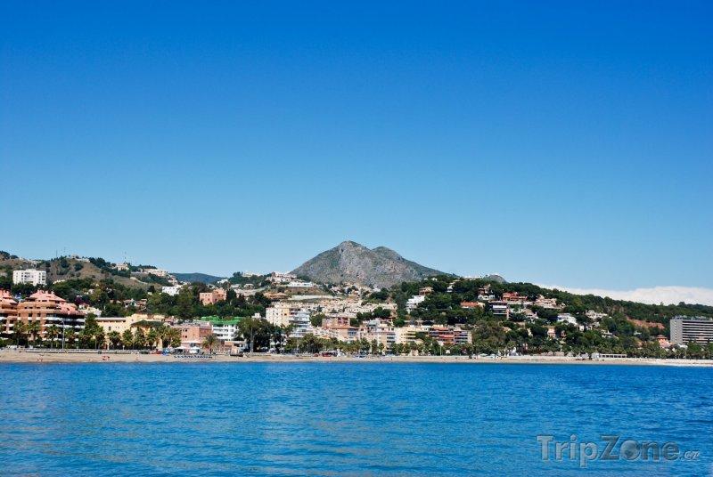 Fotka, Foto Pláž na pobřeží (Málaga, Španělsko)