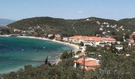 Pláž ve městě Volos