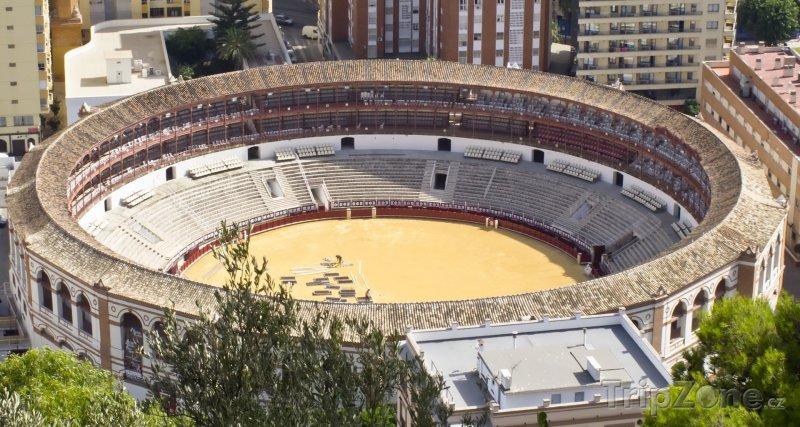Fotka, Foto Plaza de Toros (Málaga, Španělsko)