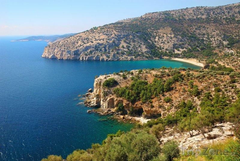 Fotka, Foto Pobřeží ostrova Thassos (Řecko)
