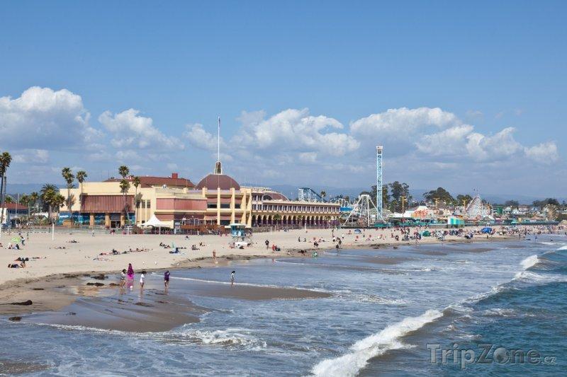 Fotka, Foto Santa Cruz, pláž (USA)