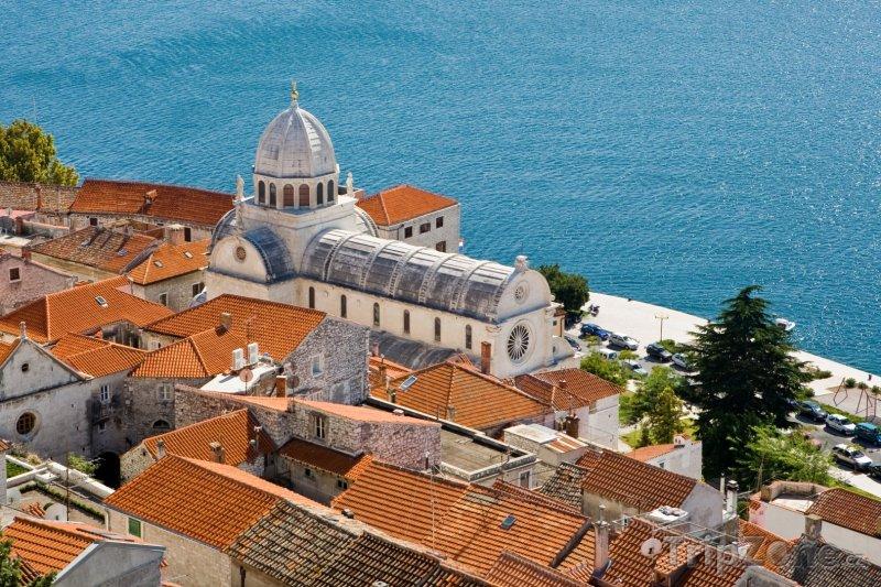 Fotka, Foto Šibenik, katedrála svatého Jakuba (Chorvatsko)