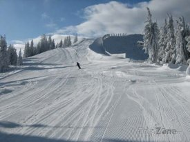 Sjezdovka v lyžařském středisku Unterberg