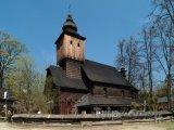 Skanzen u Rožnova pod Radhoštěm, kostel sv. Anny z Větřkovic