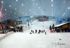 Ski Dubai, lanovka a 400 metrů dlouhá sjezdovka