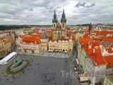 Staroměstské náměstí, pohled z věže