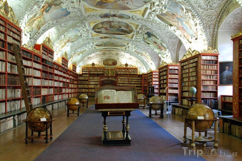 Fotka, Foto Strahovský klášter, Teologický sál (Praha, Česká republika)
