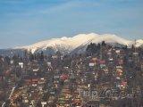 Tatry v pozadí Liptovského Mikuláše
