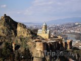 Tbilisi, pevnost Narikala nad městem