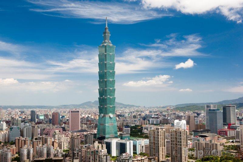 Fotka, Foto Tchaj-pej, mrakodrap Taipei 101 (Tchaj-wan)