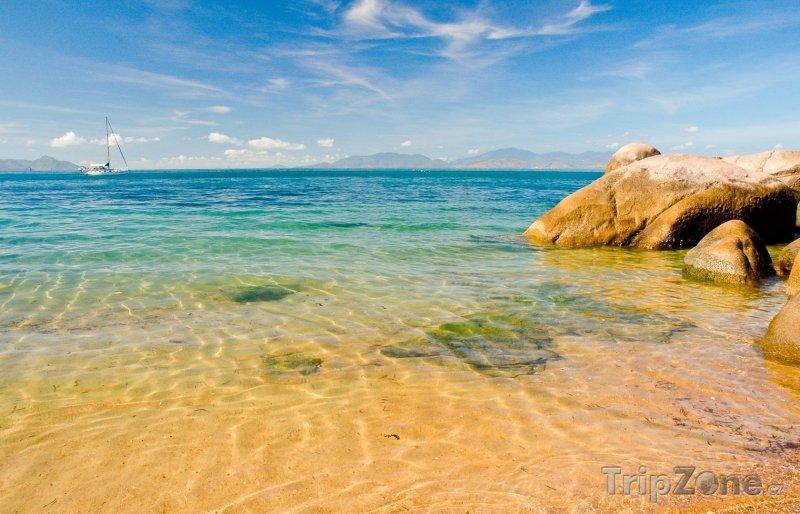 Fotka, Foto Townsville, útesy na pobřeží