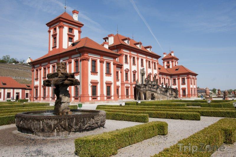 Fotka, Foto Trojský zámek (Praha, Česká republika)