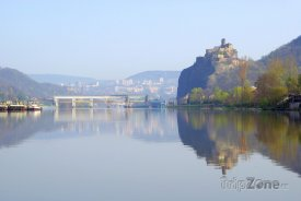 Ústí nad Labem, Labe a hrad Střekov