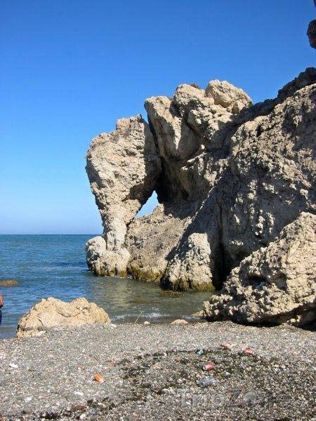Fotka, Foto Útesy na pobřeží (Málaga, Španělsko)