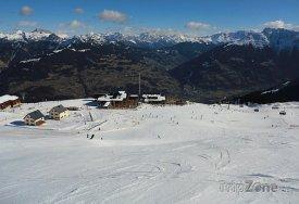 Vandans, lyžařské středisko Golm