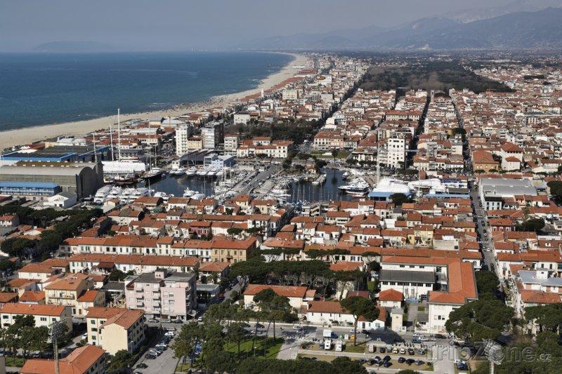 Fotka, Foto Viareggio panorama (Itálie)