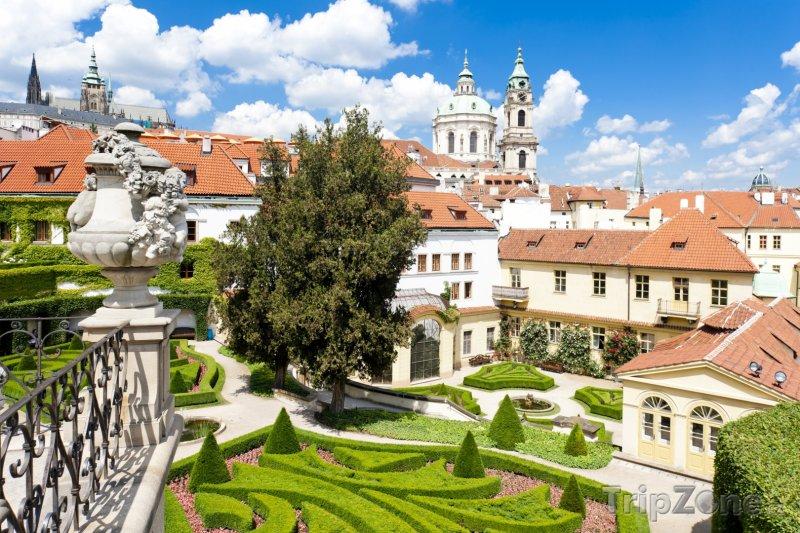Fotka, Foto Vrtbovská zahrada na Petříně (Praha, Česká republika)