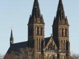 Vyšehrad, bazilika svatého Petra a Pavla