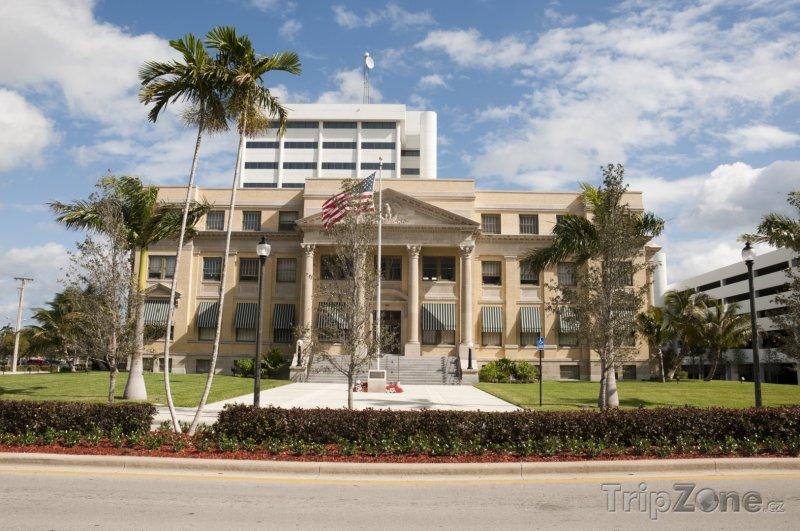 Fotka, Foto West Palm Beach, budova soudu (USA)